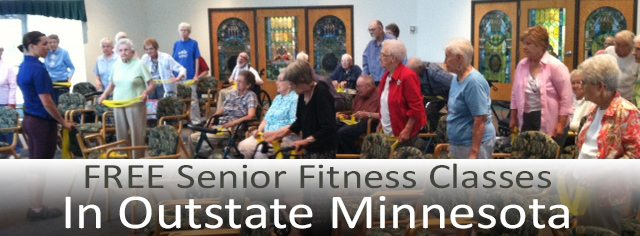 FREE senior fitness classes in Outstate Minnesota
