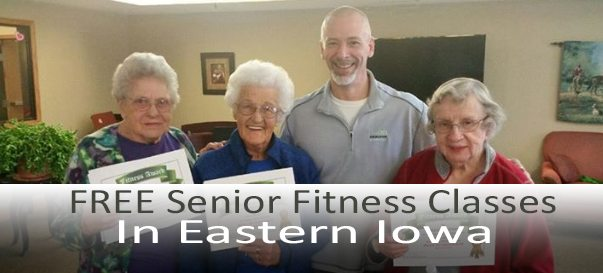FREE senior fitness classes in Eastern Iowa