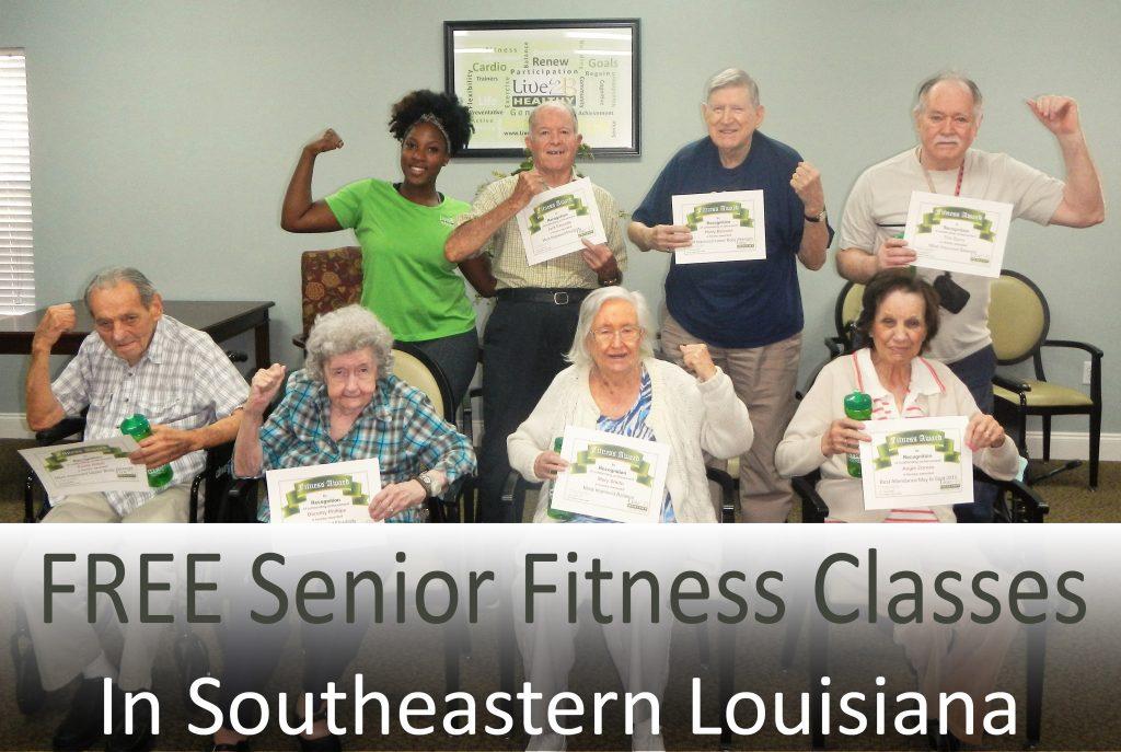 Free Senior Fitness Classes in SE LA