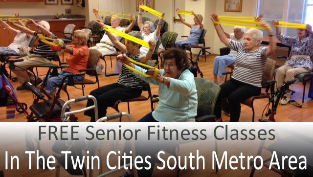 FREE senior fitness classes in the Minneapolis South Metro area