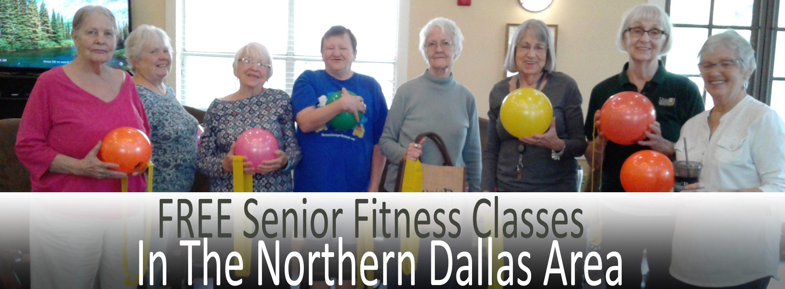 FREE Senior Fitness Classes in Northern Dallas