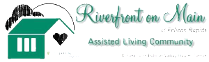 riverfront on main logo
