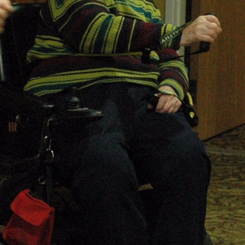 MSV lady in wheelchair