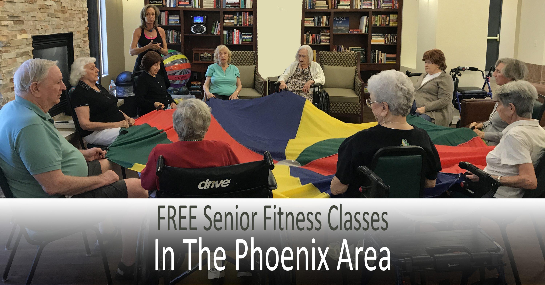 FREE senior fitness classes in the Phoenix area